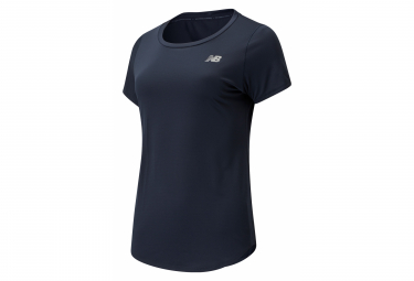 New Balance Accelerate V2 Short Sleeve Jersey Blue Women