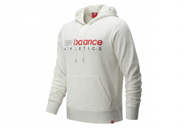 New Balance Essentials Icon Sudadera Con Capucha Hombre Blanco S
