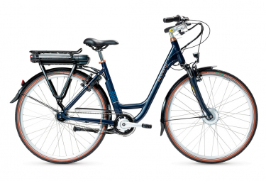 Bicicleta Ciudad Mujer Peugeot eC03 N7 400 Wh Bleu