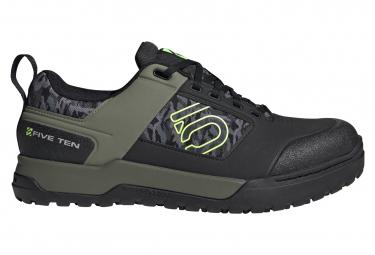 Five Ten Pro Shoes VTT Black Green Versig Verher