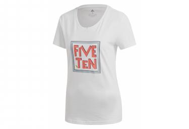 Camiseta Five Ten Mujer Gfx Blanco S