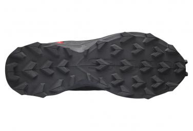 Chaussures de Trail Salomon Supercross Noir