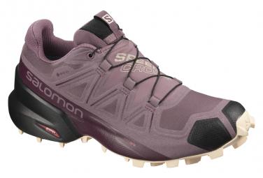 Chaussures de Trail Femme Salomon Speedcross 5 GTX Violet / Rose
