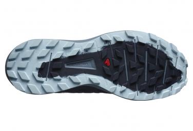 Chaussures de Trail Femme Salomon Sense Ride 3 Noir / Bleu