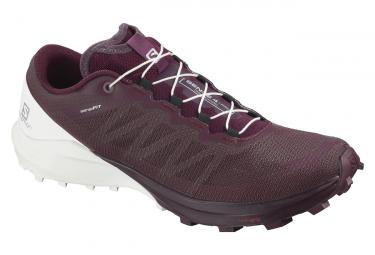 Chaussures de Trail Salomon Sense 4 Pro Rouge / Blanc