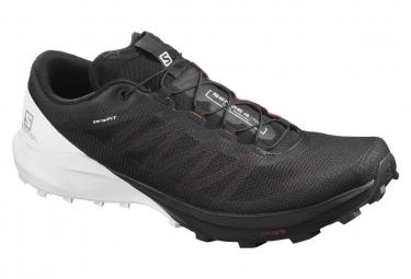 Chaussures de Trail Salomon Sense 4 Pro Noir / Blanc