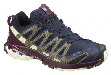 Zapatillas Salomon XA Pro 3D V8 GTX para Mujer Azul / Rojo