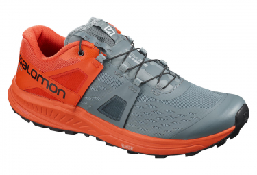 Salomon Ultra Pro Grey Orange Men