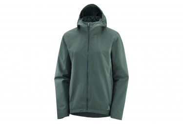 Windstopper Jacket Salomon Comet WP Green Women