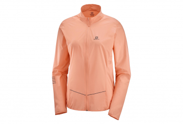 Windstopper Jacket Salomon Sense Pink Women