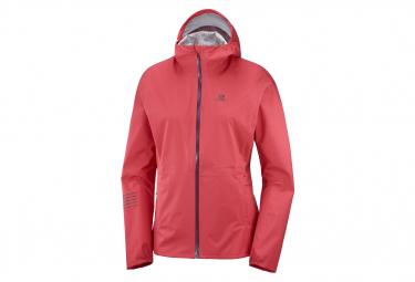 Waterproof Jacket Salomon Lightning WP Pink Women