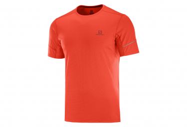 short sleeves jersey Salomon Agile Red Men