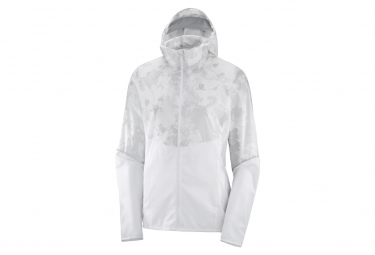 Jacket Salomon Agile White Women