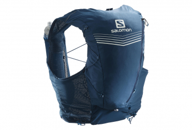 Pack de hidratación Salomon ADV Skin 12 Set Azul Unisex
