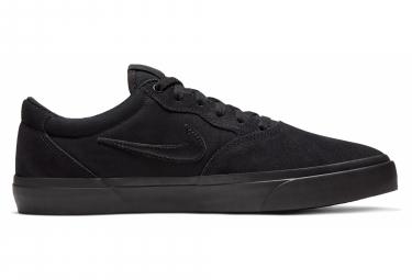 Nike Sb Chron Solarsoft Negro Zapatos 44 1 2