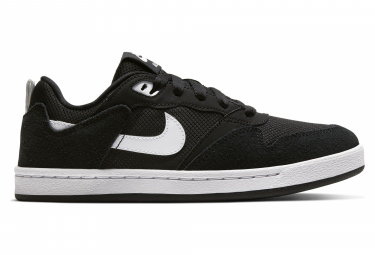 Chaussures Enfant Nike SB Alleyoop Noir / Blanc