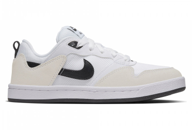 Nike SB Alleyoop White / Black Kids Shoes