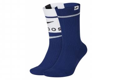 Chaussettes Nike Sneaker Multi / Bleu