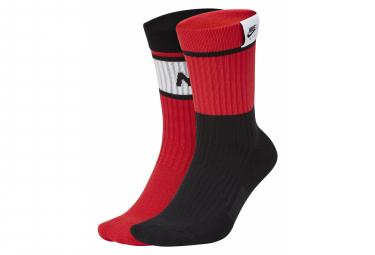 Nike SB Air Sneakers Red / Multi Socks