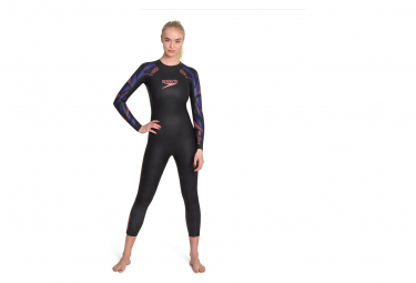 Jumpsuit N opr ne Woman Speedo Proton Fullsuit Black Purple
