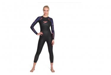 Combinaison Néoprène Femme Speedo Proton Fullsuit Noir Violet