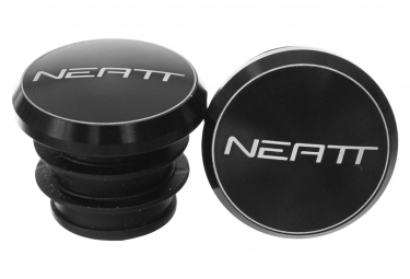 Embouts de Guidon Neatt Aluminium Noir