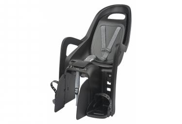 Siège vélo arrière Polisport Groovy Maxi CFS pour montage sur le porte-bagages Noir