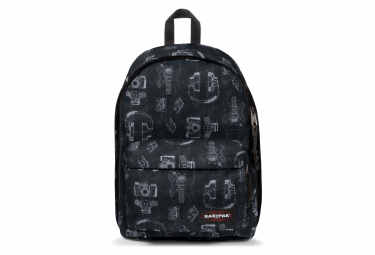 Mochila Eastpak Out Of Office Charol Negro