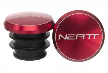 Puños Neatt Aluminium Bar Plugs - red red