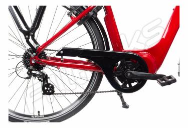Bicicleta urbana hibrida gitane organ e central shimano tourney   altus 8s 500 wh 700 mm ruby red 2020 45 cm   156 166 cm