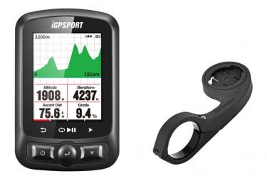 Pack IGS618S Le Compteur GPS High Tech et Support déporté