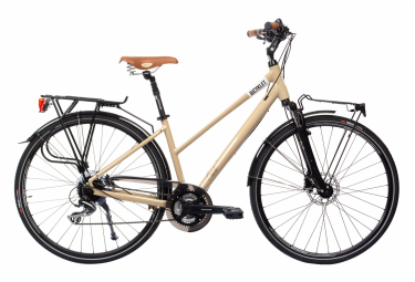 BicykletColette Womens City Bike  Beige