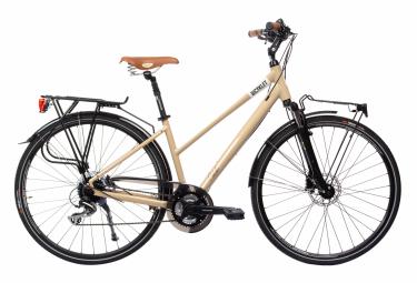 Bicicleta Ciudad Mujer Bicyklet Colette Beige