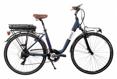 Bici Elettrica da Città Bicyklet Claude Shimano Tourney 7V 500 Wh 700 mm Blu Notte Mat 2020