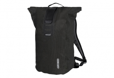 Ortlieb Velocity High Visibility Black Backpack