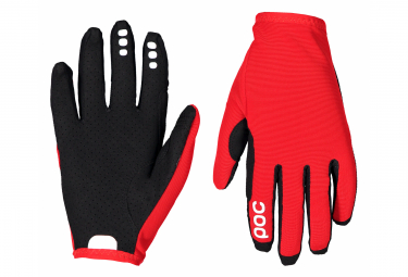 Poc Resistance Enduro Long Gloves Prismane Red