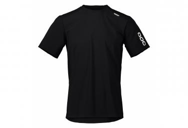 Poc Resistance Ultra Short Sleeve Jersey Uranium Black