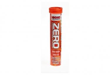 Tabletas energéticas High5 ZERO x20 Cherry Orange