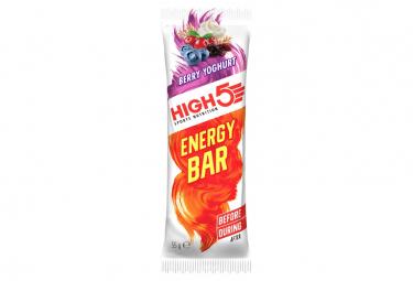 Barre Énergétique High5 Energy Yaourth Fruits Rouges 55g