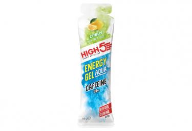 Gel Énergétique High5 Energy Aqua Caféine Citron 66g
