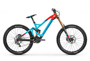 Mondraker Summum Carbon Pro Team Shimano Saint 10s Blau / Orange 2020
