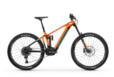 MTB Eléctrica Doble Suspensión Mondraker Level R 29'' Orange / Vert 2020