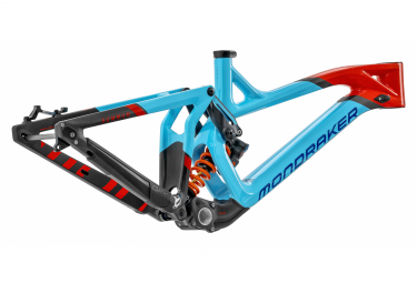 Mondraker Summum Carbon Pro Team 27,5 MTB Rahmen Blau / Orange 2020
