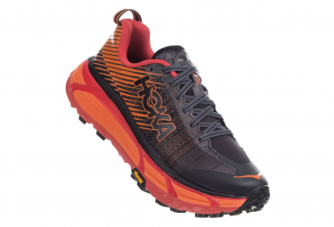 Hoka Evo Mafate 2 Schwarz Orange Rot Damen