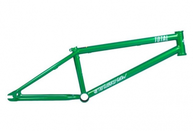 Image of Cadre bmx freestyle total tws 2 matallic green 20 6