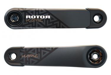 Manivelles Rotor Kapic Carbon (sans axe) Noir