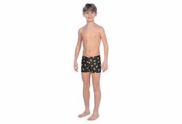 Arena Boy's Short Cactus Black Yellow