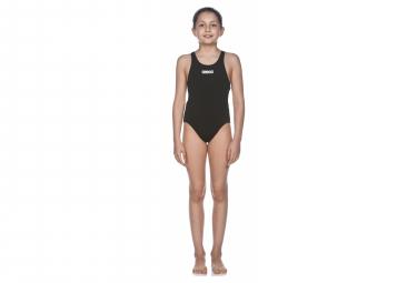 Arena Girl's Solid Swim Tech Black