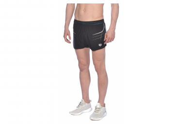 Arena Hombre A One Side Split Short Negro M