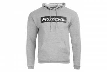 Gray Alltricks Ambassador men's hoodie